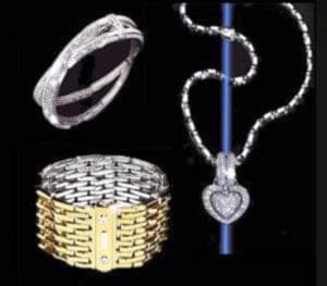 کاربرد فلزات و سنگهای قیمتی نمادی از عشق به زیبایی و ارائه طرحهای جدید و انعطافناپذیر است و سبب شکلگیری سبک بینظیری ...