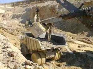 استخراج سنگ معدنی طلادار از معادنی که اکتشاف آنها به طور کامل به اتمام رسیده است، با توجه به اطلاعات زمین ...