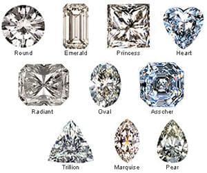 اشکال الماس (diamonds shapes) را بهتر بشناسیم