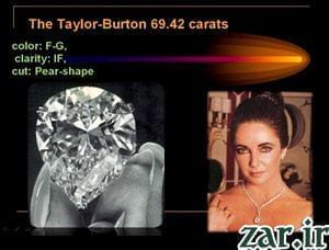 الماس الیزابت تیلور (Taylor Diamond)