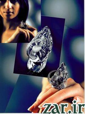رکورد بیشترین تعداد الماس بر روی انگشتر طلا