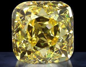 الماس آلنات - بزرگترین الماس زرد جهان