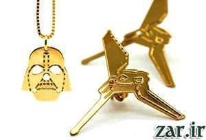 مجموعه طلا و جواهرات جنگ ستارگان