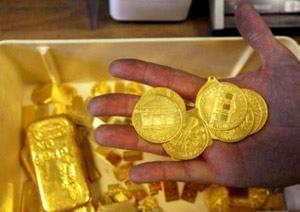 بازار طلا و سکه در آرامش به سر می برد