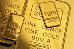 قیمت طلا بالای ۱۳۰۰ دلار میدرخشد