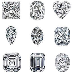 طالع بینی انواع الماس - زوایای شخصیت افراد بر اساس شکل الماس