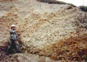در معادنی که نوع سنگ معدن سولفید میباشد معمولاً در قسمت سطحی این معادن، سنگ های سولفوره به علت ...